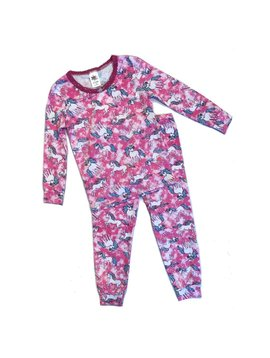 Esme Loungewear Pink Unicorn Long Sleeve