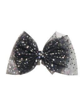 Bari Lynn Star Tulle Bow Clip