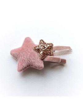 Me Oui Star w Glitter Star Clip