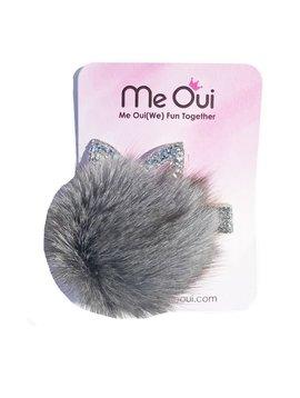 Me Oui Bunny Pom Pom Hair Clip