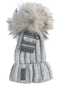 Maniere Adult Merino Wool Hat - Dusty Grey