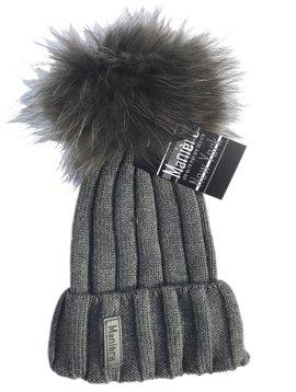 Maniere Adult Merino Wool Hat - Charcoal