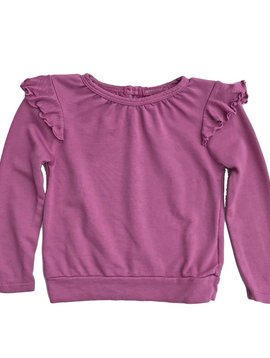 LAmade Ruffle Light Sweatshirt