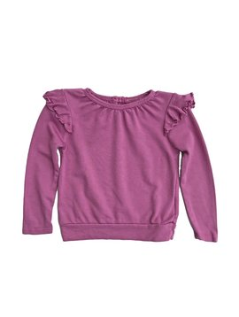 LAmade Ruffle Light Sweatshirt
