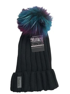Maniere Adult Merino Wool Hat - Black