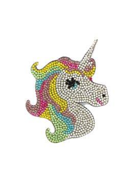 Bari Lynn Unicorn Clip Silver