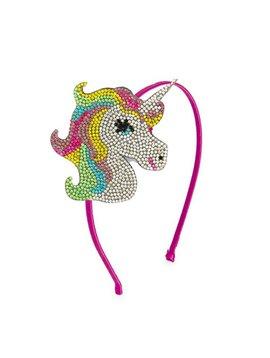 Bari Lynn Unicorn Grey Headband