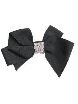 Bari Lynn Fancy X-Large Bow - Black