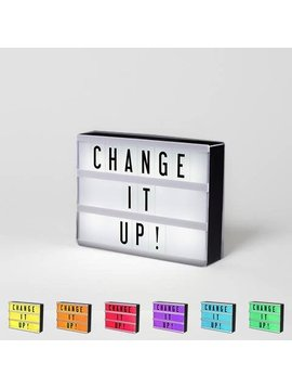 My Cinema Lightbox Mini Lightbox - Color Changing