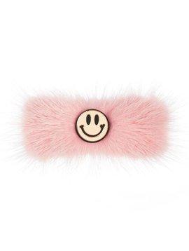 ooahooah Faux Fur Smiley Clip