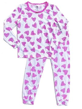 Esme Loungewear Hearts Long Sleeve