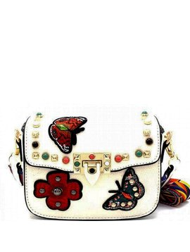 Survolte Harper Crossbody Bag - White