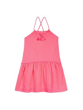 3pommes & B-Karo Neon Pink Beach Dress