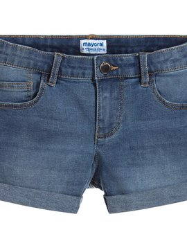 Mayoral Stretch Denim Shorts