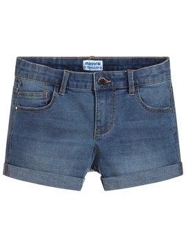Mayoral Stretch Denim Shorts