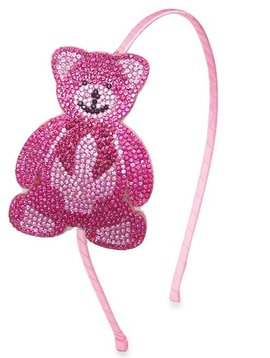 Bari Lynn Teddy Bear Headband