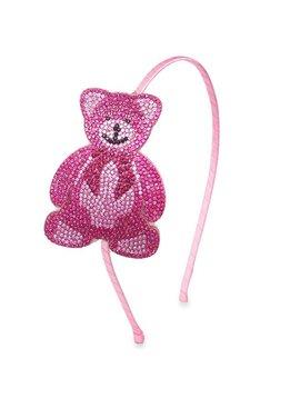 Bari Lynn Teddy Bear Headband