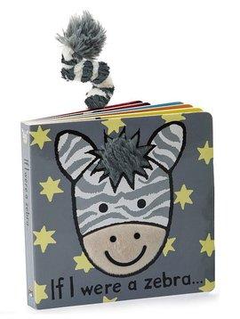 Jellycat If I Were a Zebra