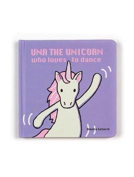 Jellycat Una Unicorn Who Loves to Dance Book