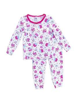 Esme Loungewear Cupcake Long Sleeve Pajamas