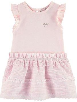 Lili Gaufrette Griotte Lace Dress
