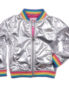 Appaman Nikki Bomber Jacket Rainbow