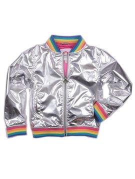 Appaman Nikki Bomber Jacket Rainbow