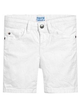 Mayoral 5 Pocket Cotton Short - White