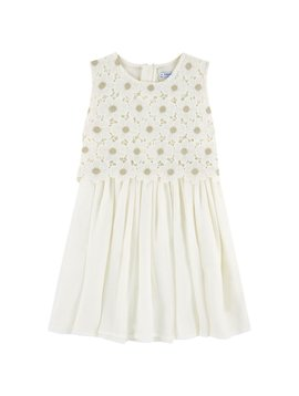 Mayoral Floral Lace Dress