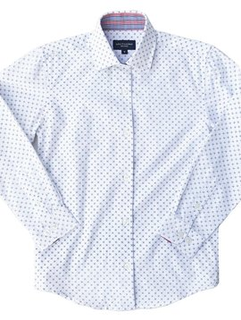 Leo & Zachary Dress Shirt - Centriole Blue