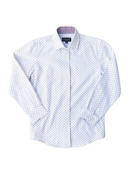 Leo & Zachary Dress Shirt - Centriole Blue