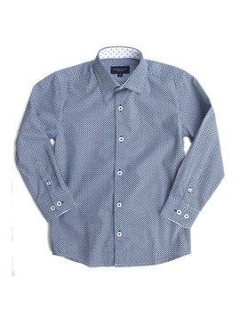 Leo & Zachary Dress Shirt - Marino Octagons