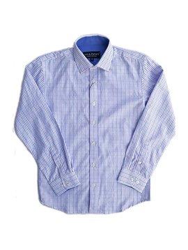 Leo & Zachary Dress Shirt - Ocean Breeze Check