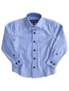 Leo & Zachary Dress Shirt - Powder Blue Point