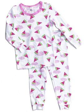 Esme Loungewear Watermelon Long Sleeve Pajamas