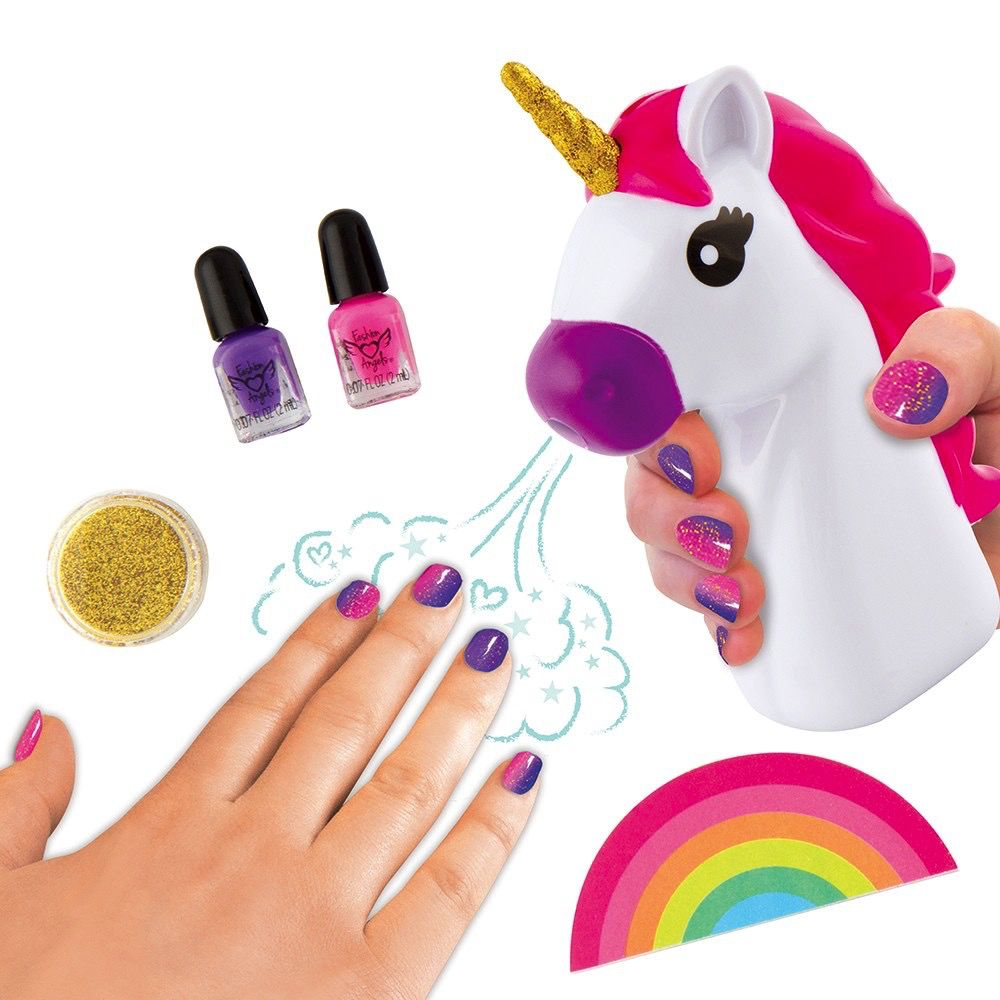 Fashion Angels Unicorn Magic Nail Dryer Set - Pumpkin and Bean