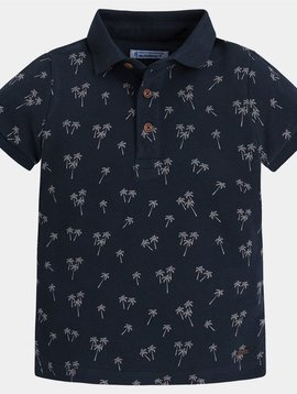 Mayoral Polo Palm Tree Print