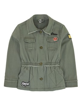 3pommes & B-Karo Miltary Parka with Patches