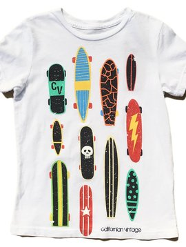 Californian Vintage Multi Board T-Shirt