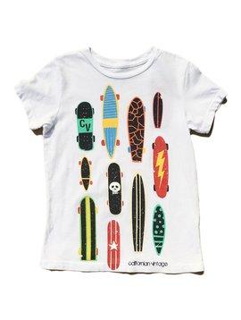 Californian Vintage Multi Board T-Shirt