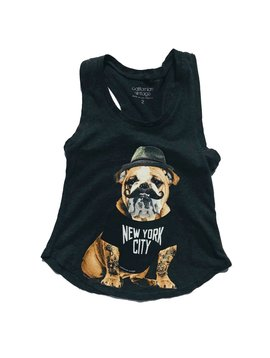 Californian Vintage NYC Bulldog Tank Top