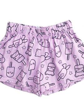 Pink Peony Pretty Paletas Shorts