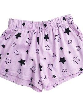 Pink Peony Star Bright Shorts