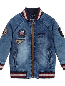 Mayoral Denim Bomber Jacket