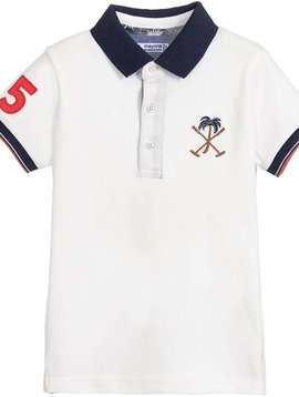 Mayoral Pique Polo with Palm Tree
