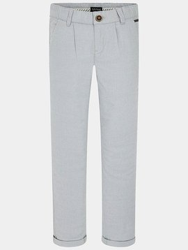 Mayoral Soft Grey Chino Trousers