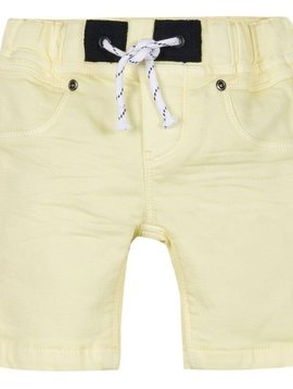 3pommes & B-Karo Yellow Fleece Shorts