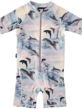 molo Neka Surfer Swimsuit - Dolphin
