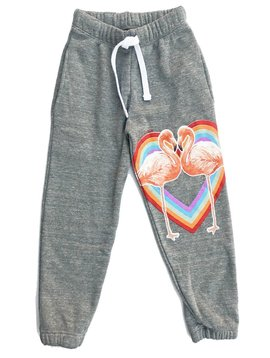 Californian Vintage Flamingo Heart Sweatpant