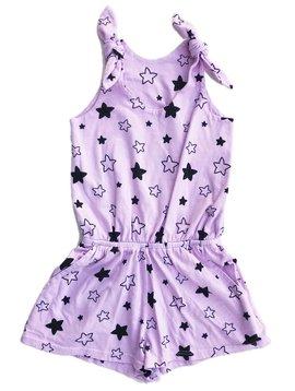 Pink Peony Star Bright Romper - Pink Peony Kids
